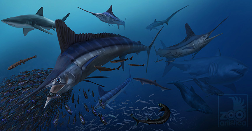 Fosil reconstruction of the Late Miocene Charges river Panama
